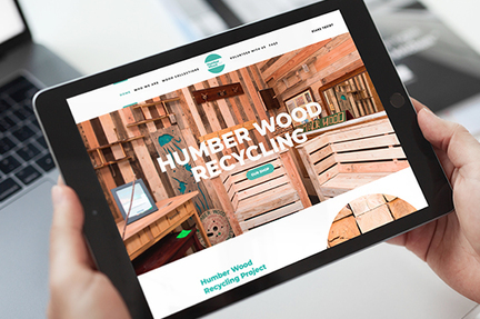 Humber Wood Hull website screen