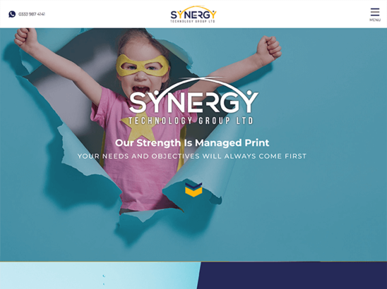Synergy Technology Group website