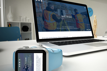 Metron website screen